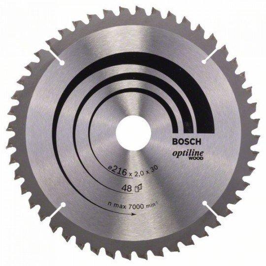 Bosch Körfűrészlap, Optiline Wood 216 x 30 x 2,0 mm, 48