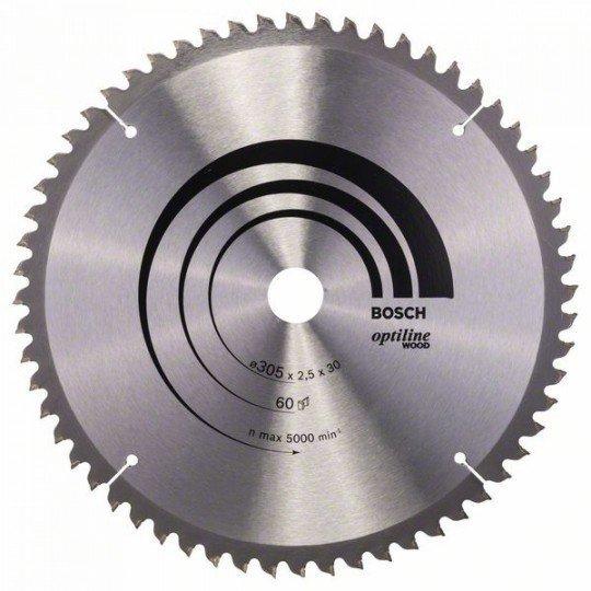Bosch Körfűrészlap, Optiline Wood 305 x 30 x 2,5 mm, 60