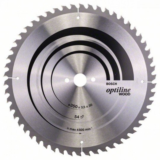 Bosch Körfűrészlap, Optiline Wood 350 x 30 x 3,5 mm, 54