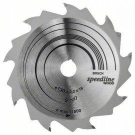 Bosch Körfűrészlap, Speedline Wood 130 x 16 x 2,2 mm, 9