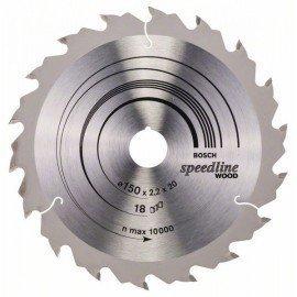 Bosch Körfűrészlap, Speedline Wood 150 x 20 x 2,2 mm, 18