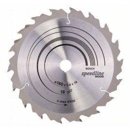 Bosch Körfűrészlap, Speedline Wood 160 x 16 x 2,4 mm, 18