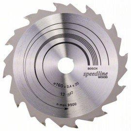Bosch Körfűrészlap, Speedline Wood 160 x 20 x 2,4 mm, 12
