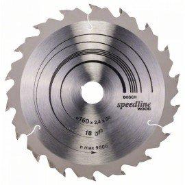 Bosch Körfűrészlap, Speedline Wood 160 x 20 x 2,4 mm, 18