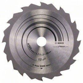 Bosch Körfűrészlap, Speedline Wood 165 x 20/16 x 1,7 mm, 12