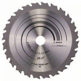Bosch Körfűrészlap, Speedline Wood 165 x 20/16 x 1,7 mm, 24