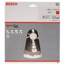 Bosch Körfűrészlap, Speedline Wood 165 x 30 x 2,4 mm, 18