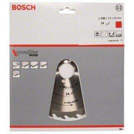 Bosch Körfűrészlap, Speedline Wood 190 x 30 x 2,6 mm, 24