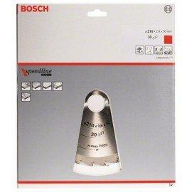 Bosch Körfűrészlap, Speedline Wood 210 x 30 x 2,6 mm, 30