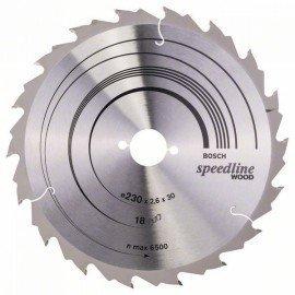 Bosch Körfűrészlap, Speedline Wood 230 x 30 x 2,6 mm, 18