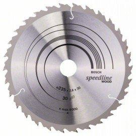 Bosch Körfűrészlap, Speedline Wood 235 x 30/25 x 2,6 mm, 30