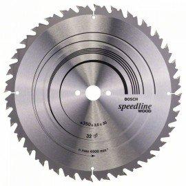 Bosch Körfűrészlap, Speedline Wood 350 x 30 x 3,5 mm, 32