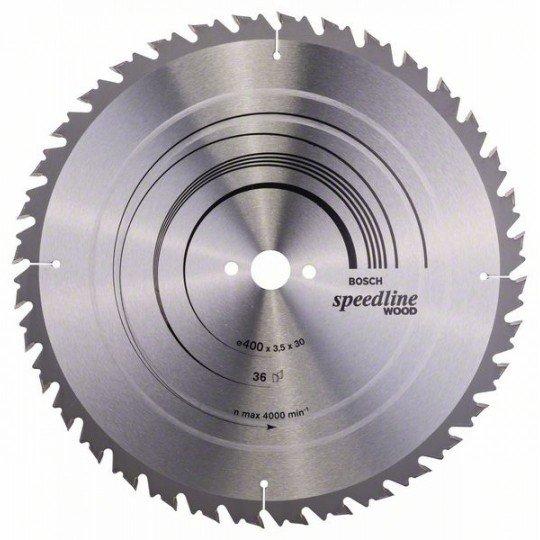 Bosch Körfűrészlap, Speedline Wood 400 x 30 x 3,5 mm, 36