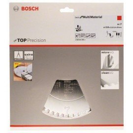 Bosch Körfűrészlap, Top Precision Best for Multi Material 210 x 30 x 2,3 mm, 54