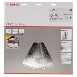 Bosch Körfűrészlap, Top Precision Best for Wood 350 x 30 x 3,5 mm, 84