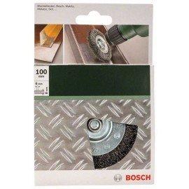 Bosch Korongkefék fúrógépekhez – hullámosított drót, 100 mm Átmérő = 100 mm