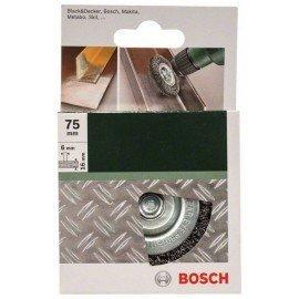 Bosch Korongkefék fúrógépekhez – hullámosított drót, 75 mm Átmérő = 75 mm