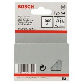 Bosch Laposhuzal-kapocs, típus: 54 12,9 x 1,25 x 14 mm
