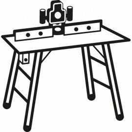 Bosch Lekerekítő maró 8 mm, D 38,1 mm, R1 12,7 mm, L 19 mm, G 61 mm