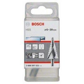 Bosch Lépcsős fúró HSS 6 - 39 mm, 10,0 mm, 93,5 mm