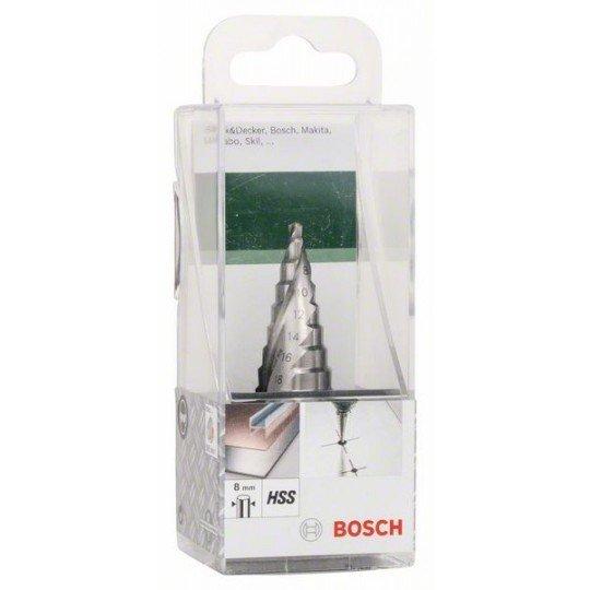 Bosch Lépcsős fúró HSS D= 4,0 - 20,0 mm; L= 75 mm