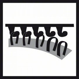 Bosch Multiloch csiszolótányér puha, 125 mm