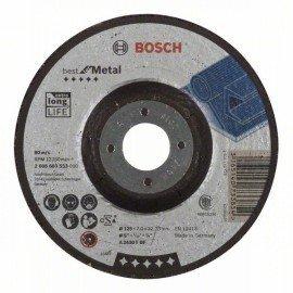 Bosch Nagyolótárcsa, hajlított, Best for Metal A 2430 T BF, 125 mm, 7,0 mm