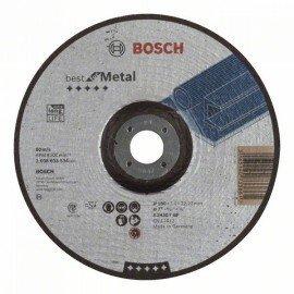 Bosch Nagyolótárcsa, hajlított, Best for Metal A 2430 T BF, 180 mm, 7,0 mm
