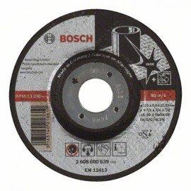 Bosch Nagyolótárcsa, hajlított, Expert for Inox AS 30 S INOX BF, 115 mm, 6,0 mm