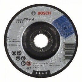 Bosch Nagyolótárcsa, hajlított, Expert for Metal A 30 T BF, 125 mm, 6,0 mm