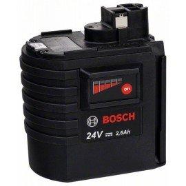 Bosch NiMH akkumulátor, 24 V, 2,6 Ah, lapos típus, SD