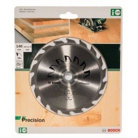 Bosch PRECISION körfűrészlap D= 140 mm; Furat= 20 mm; Z= 18