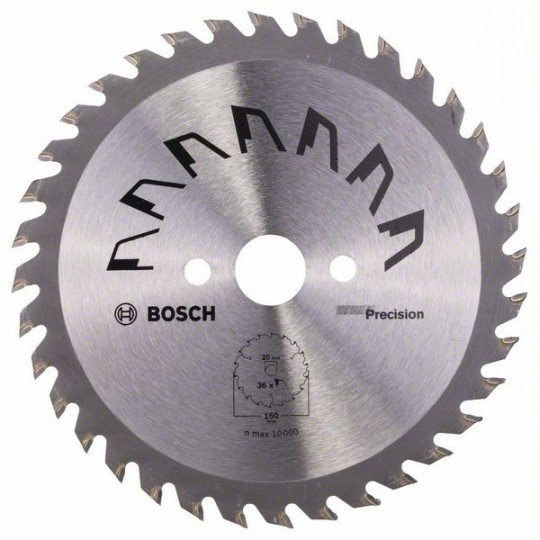 Bosch PRECISION körfűrészlap D= 150 mm; Furat= 20 mm; Z= 36