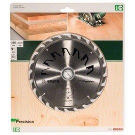 Bosch PRECISION körfűrészlap D= 180 mm; Furat= 30 mm; Z= 24