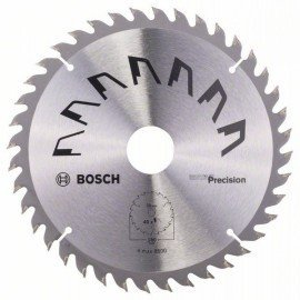 Bosch PRECISION körfűrészlap D= 180 mm; Furat= 30 mm; Z= 40