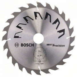 Bosch PRECISION körfűrészlap D= 210 mm; Furat= 30 mm; Z= 24