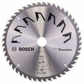 Bosch PRECISION körfűrészlap D= 250 mm; Furat= 30 mm; Z= 48