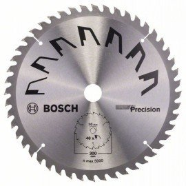 Bosch PRECISION körfűrészlap D= 300 mm; Furat= 30 mm; Z= 48