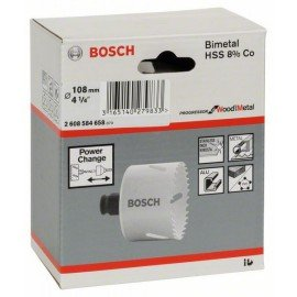 "Bosch Progressor lyukfűrész 108 mm, 4 1/4"""