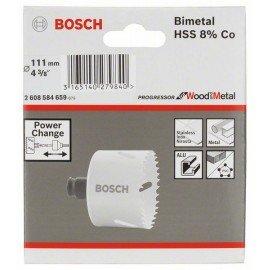 "Bosch Progressor lyukfűrész 111 mm, 4 3/8"""