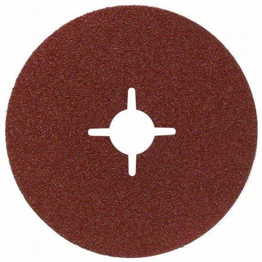 Bosch R444 fíber csiszolótárcsa, Expert for Metal D= 180 mm; K= 24
