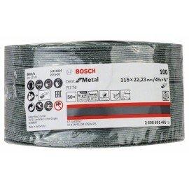 Bosch R774 fíber csiszolótárcsa, Best for Metal 115 mm, 22,23 mm, 100