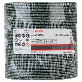 Bosch R774 fíber csiszolótárcsa, Best for Metal 115 mm, 22,23 mm, 36