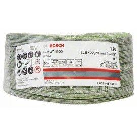 Bosch R784 fíber csiszolótárcsa, Best for Inox 115 mm, 22,23 mm, 120