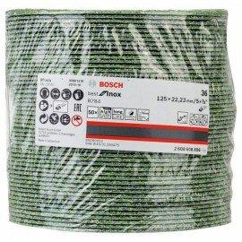 Bosch R784 fíber csiszolótárcsa, Best for Inox 125 mm, 22,23 mm, 36