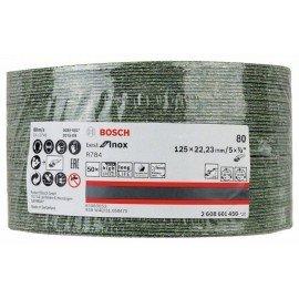Bosch R784 fíber csiszolótárcsa, Best for Inox 125 mm, 22,23 mm, 80