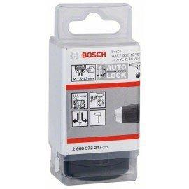 "Bosch rendszerű fúrótokmány 1,5-13 mm, 1/2"" - 20"