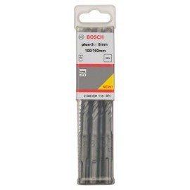 Bosch SDS-plus-3 kalapácsfúrók 8 x 100 x 160 mm