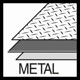"Bosch Sheet Metal lyukfűrész 17 mm, 11/16"""