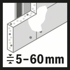 "Bosch Speed for Multi Construction körkivágó 140 mm, 5 1/2"""